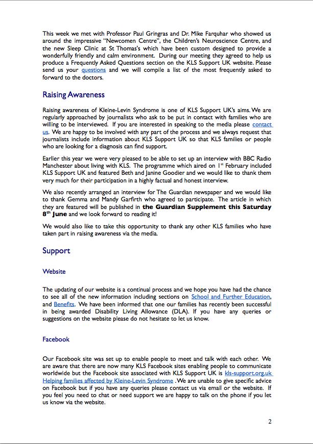 Newsletter 3 - June 2013