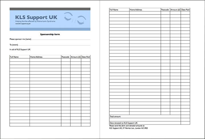 KLSwebimagesponsorlinedformjpg – Blank Sponsorship Forms
