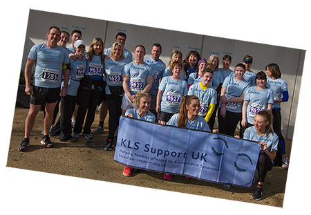 named photo of those who took part in the 10k run/walk