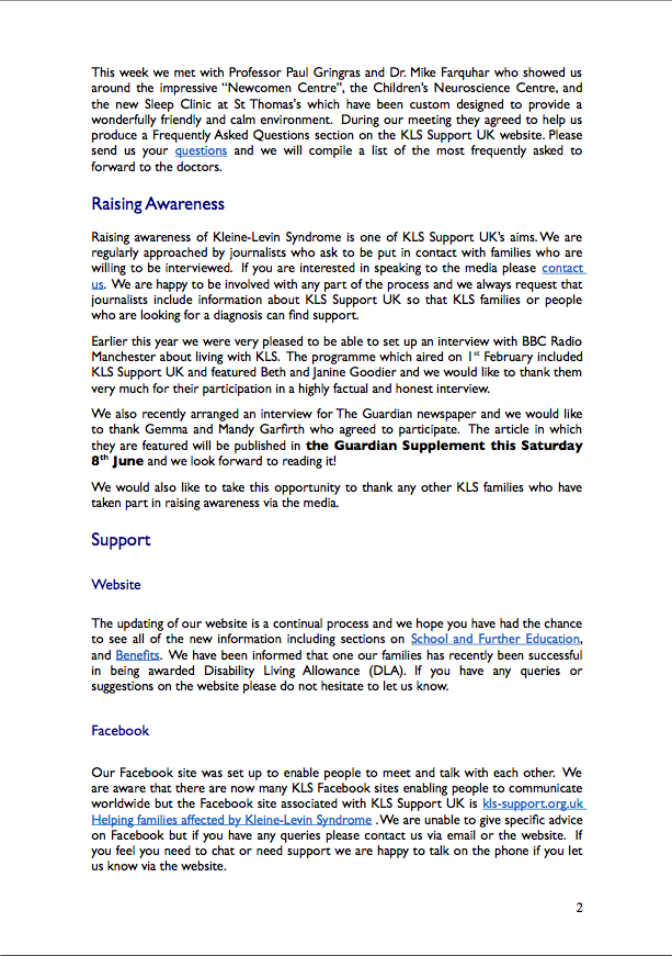 Newsletter 3 - June 2013
