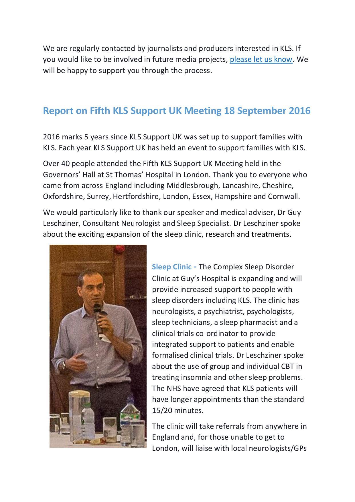 Newsletter 8 - November 2016